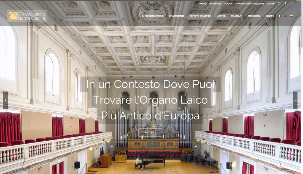 Conservatorio Santa Cecilia in Roma 1